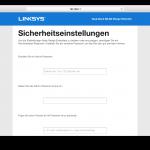 Linksys RE6400 Benutzeroberfläche Test (7)
