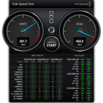 Sandisk Extreme 500 Benchmarks Blackmagic Disk Speed Test