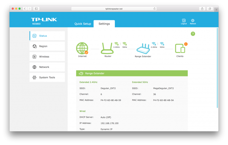 TP-LINKs bester Repeater im Test der TP-Link RE580D (12)