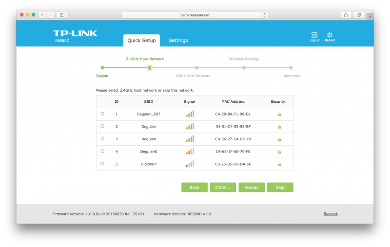 TP-LINKs bester Repeater im Test der TP-Link RE580D (6)