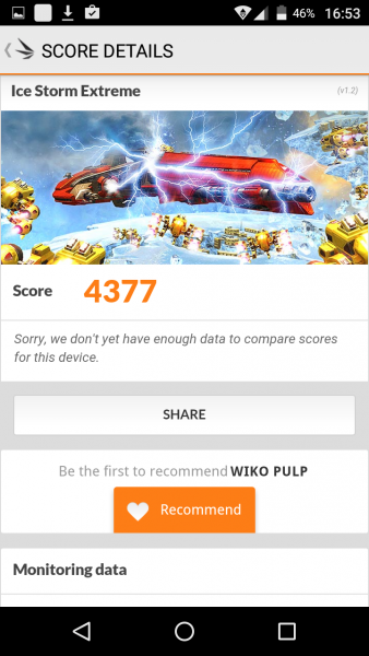 3D Mark Antutu 6 Wiko Pulp im Test review