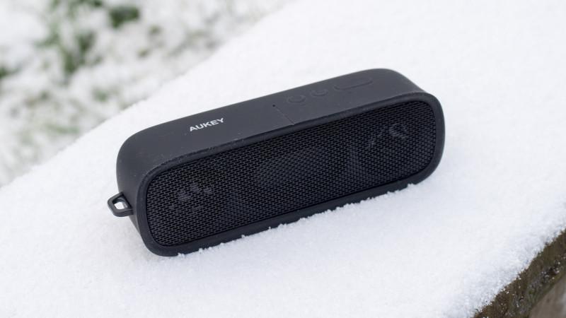 25€ Bluetooth Lautsprecher von Aukey im Test, der Aukey SK-M7-5