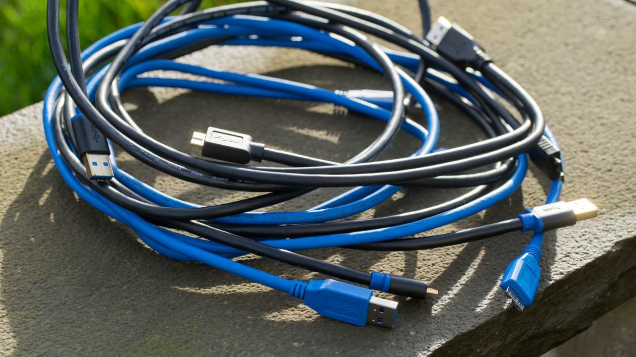 6x microUSB 3.0 Kabel im Test, hat das verwendete USB 3.0 Kabel einen Einfluss auf die Übertragungsgeschwindigkeit