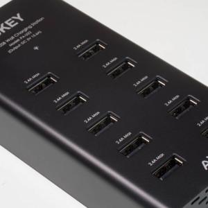 Günstiges 10 Port USB Ladegerät von Aukey im Test