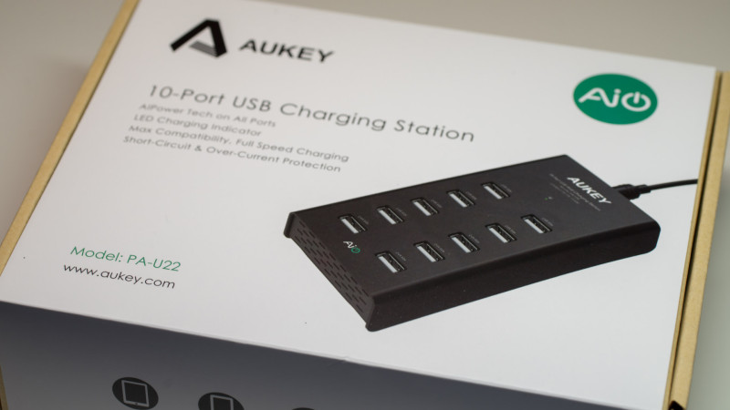 AUKEY PA-U22 Ladegerät mit 10 USB Ports Test Review-12