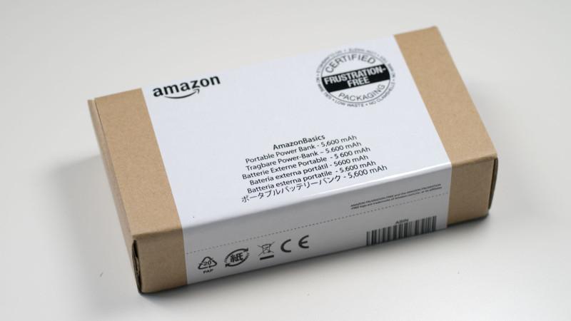 AmazonBasics Externes Akkuladegerät Powerbank mit 5600 mAh im Test Review-1