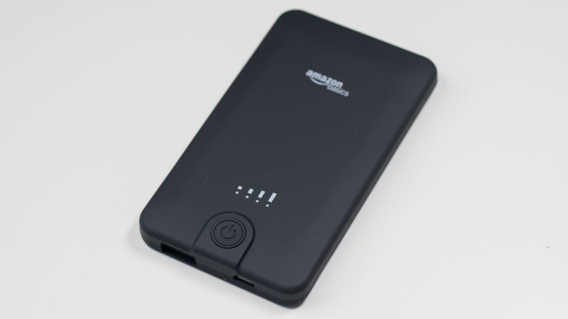 AmazonBasics Externes Akkuladegerät Powerbank mit 5600 mAh im Test Review-4