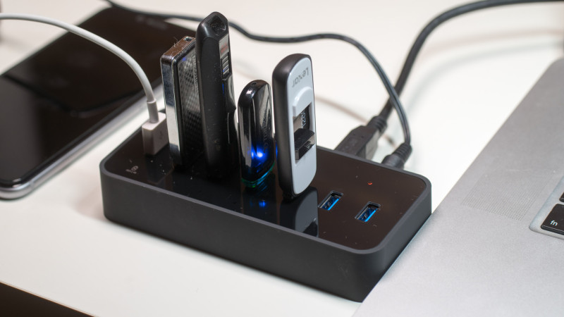 Aukey USB 3.0 HUB mit LAN Anschluss und 6 USB Ports im Test, ideal für MacBooks oder Ultrabook-9