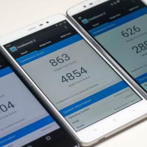 Smartphone und Tablet Benchmarks