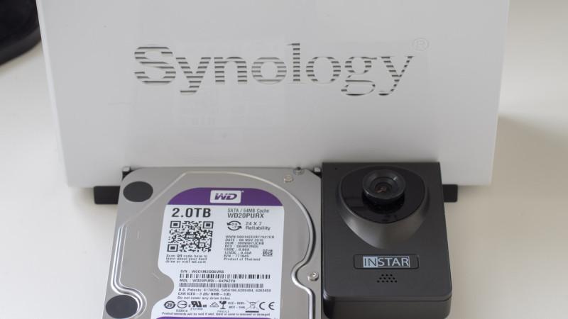 Die Synology Surveillance Station eine Kamera Empfehlung-8