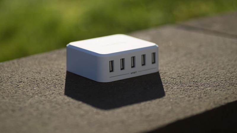 Lumsing 5-Port Desktop USB Ladegerät im Test Review-4