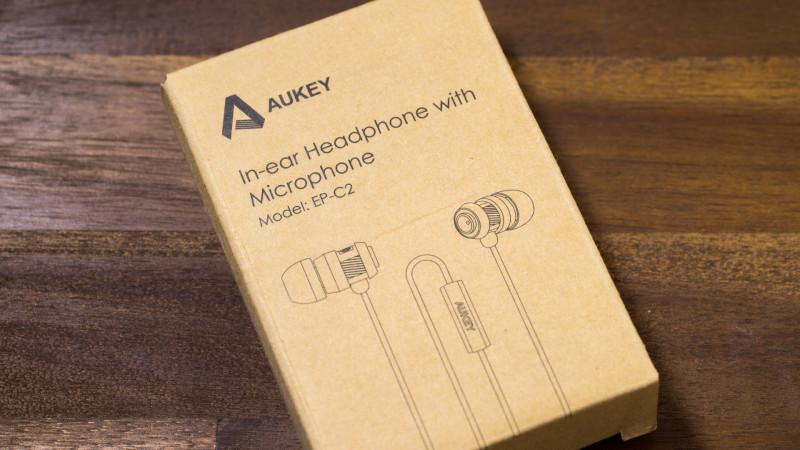 Ohrhörer für unter 10€ kann das was sein Aukey EP-C2 im Test Review-1