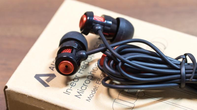 Ohrhörer für unter 10€ kann das was sein Aukey EP-C2 im Test Review-5