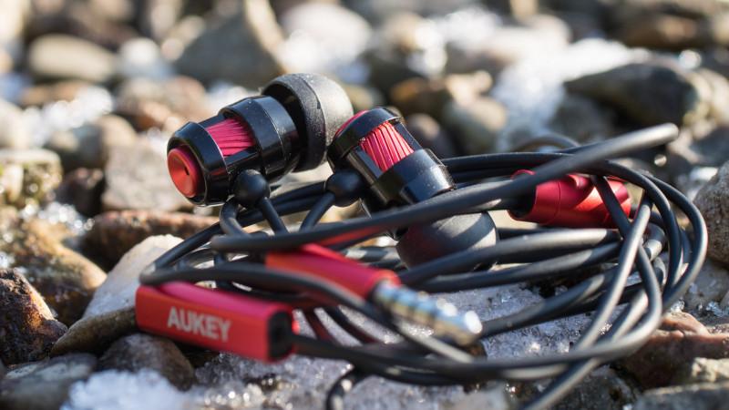 Ohrhörer für unter 10€ kann das was sein Aukey EP-C2 im Test Review-9