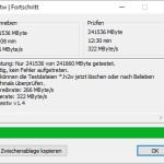 TrekStor DataStation picco SSD H2Testw