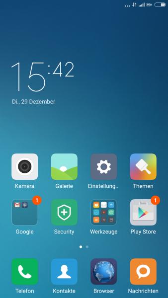 Xiaomi RedMi Note 3 Test Review Benutzeroberfläche (11)