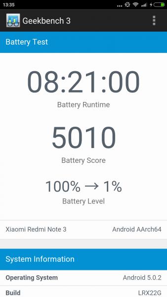 Xiaomi RedMi Note 3 Test Review Benutzeroberfläche (83)