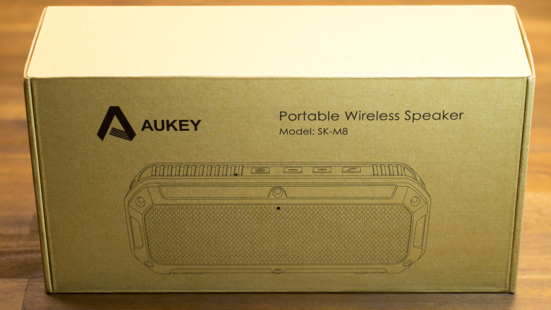 AUKEY SK-M8 Bluetooth Lautsprecher Test Review-1
