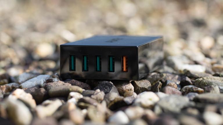 Aukey PA-T1 5 Port USB Ladegerät mit Quick Charge und 54W im Test