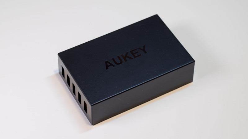Aukey PA-T1 5 Port USB Ladegerät mit Quick Charge Test Review-4