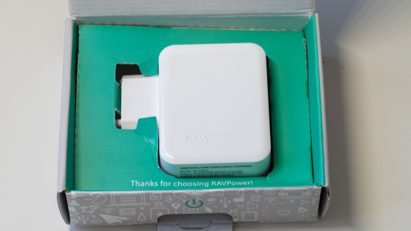 RAVPower RP-PC002 30 W 2-Port Quick Charge Ladegerät im Test Review-3