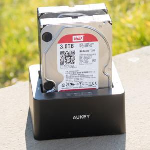 AUKEY DS-B3 Festplatte Dockingstation mit Klonfunktion im Test