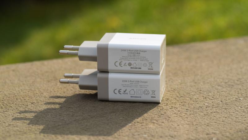 Anker 24W 2-Port USB Ladegerät mit PowerIQ Test