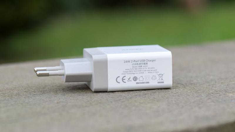 Anker 24W 2-Port USB Ladegerät mit PowerIQ Test Review-4
