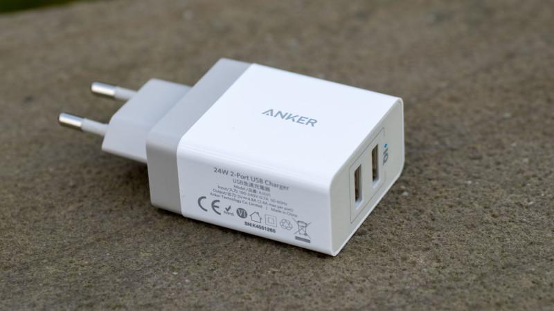 Anker 24W 2-Port USB Ladegerät mit PowerIQ Test Review-5