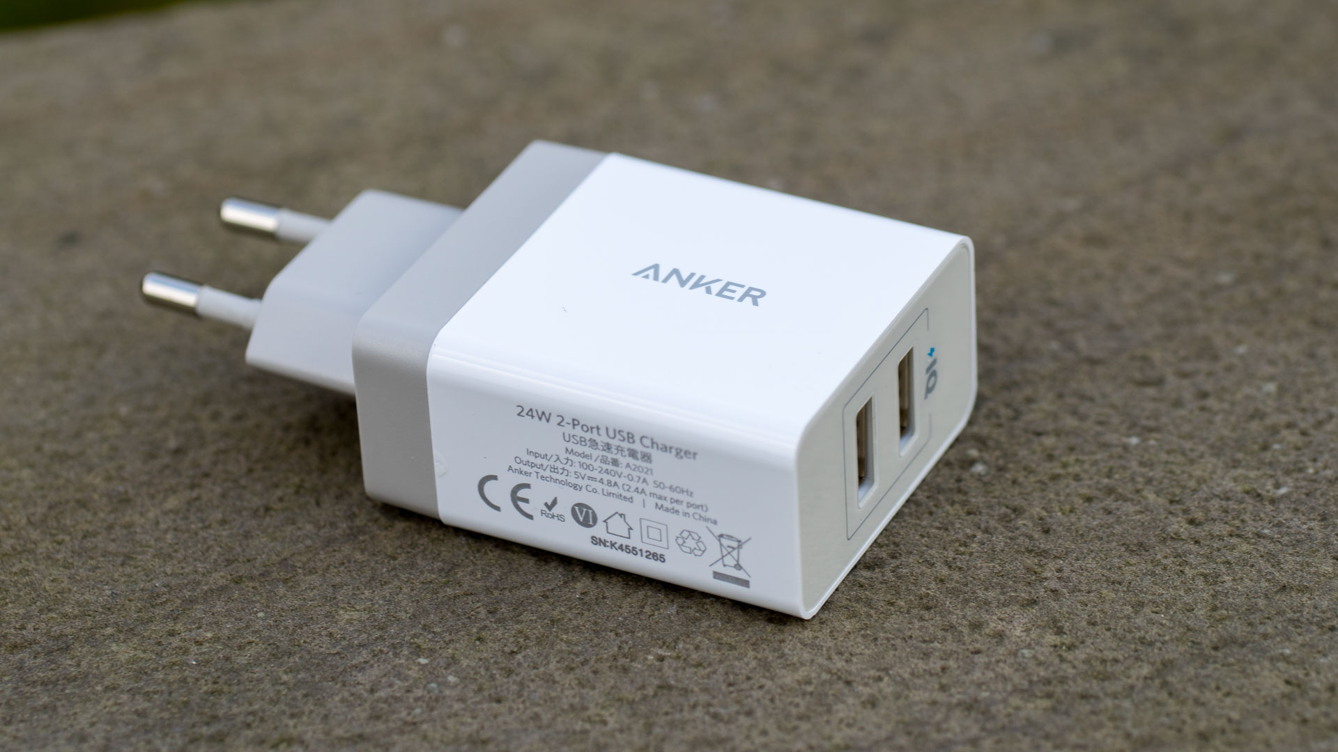 anker 24w 2 port usb ladeger t im test das beste usb ladeger t techtest. Black Bedroom Furniture Sets. Home Design Ideas