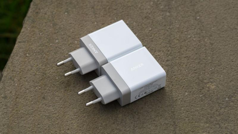 Anker 24W 2-Port USB Ladegerät mit PowerIQ Test Review-8