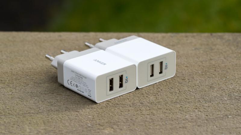 Anker 24W 2-Port USB Ladegerät mit PowerIQ Test Review-9