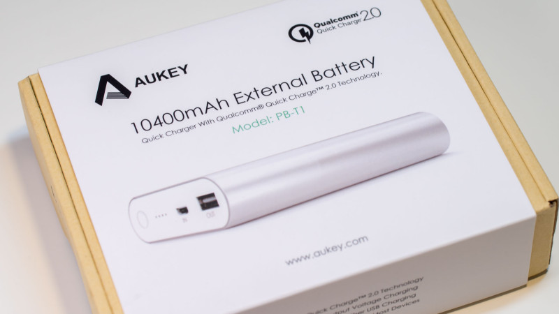Aukey PB-T1 Test Review-1
