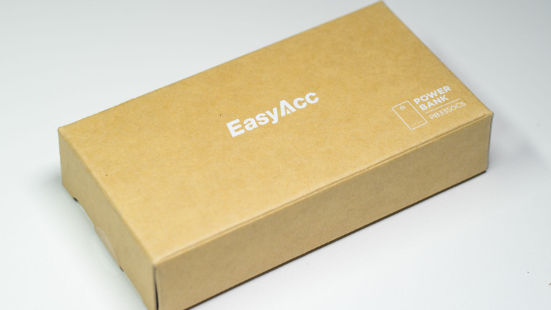 EasyAcc PB3350CS 3350mAh Test-1