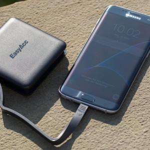 EasyAcc 9000mAh Powerbank mit integriertem Kabel im Test