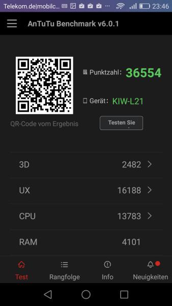 Huawei Honor 5x Antutu
