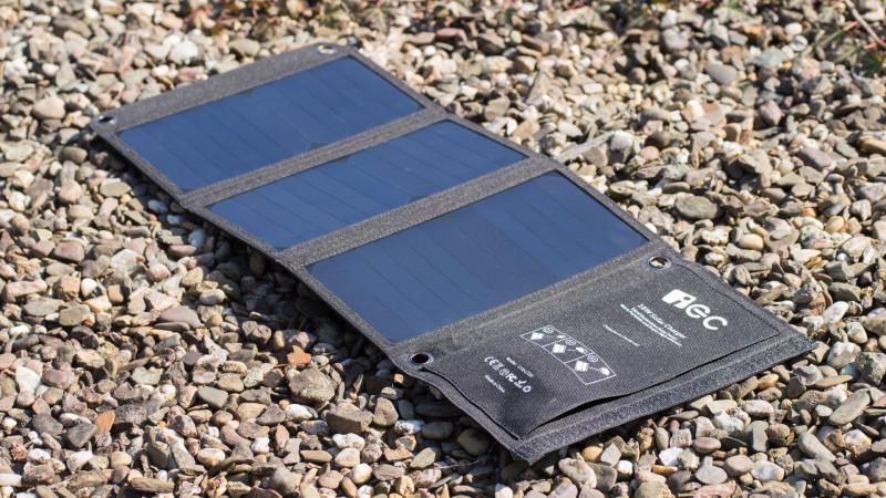 IEC 18W Solar LadegerätTest Review-10
