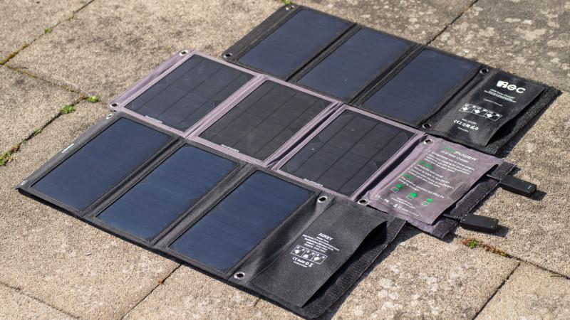 IEC 18W Solar LadegerätTest Review-15