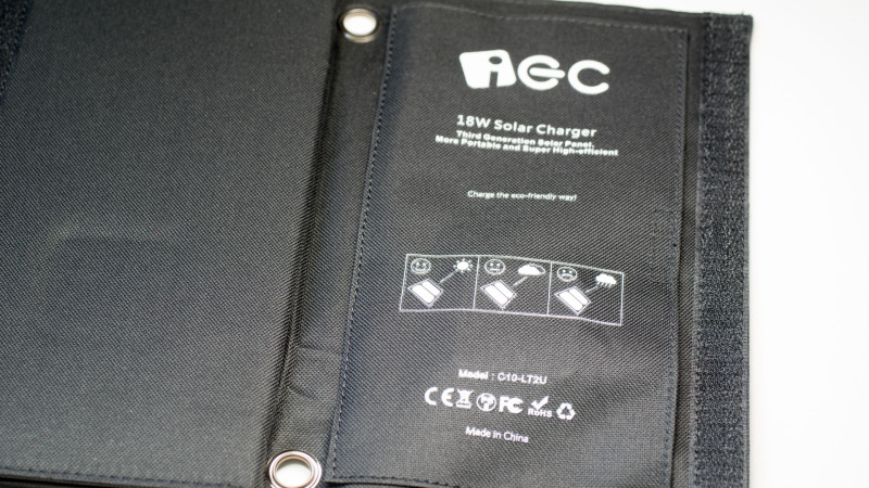 IEC 18W Solar LadegerätTest Review-2
