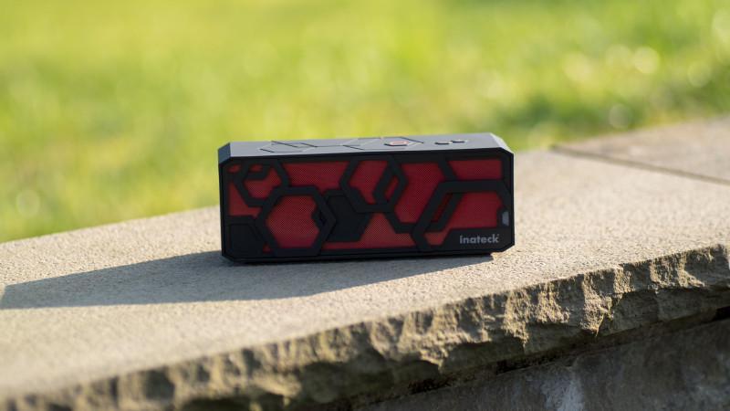 Inateck BTSP-10 Plus Bluetooth Lautsprecher Test Review-8