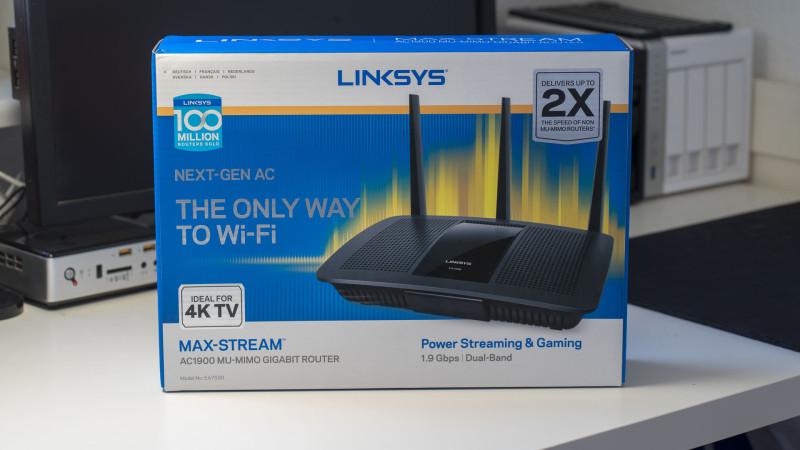 LINKSYS EA7500 Test-1