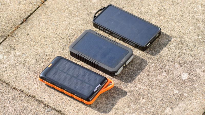 Sehr gute Solar Powerbank von EasyAcc im Test, die EasyAcc PB8000SP 8000nAh-7
