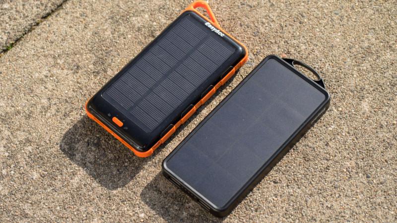 Sehr gute Solar Powerbank von EasyAcc im Test, die EasyAcc PB8000SP 8000nAh-8