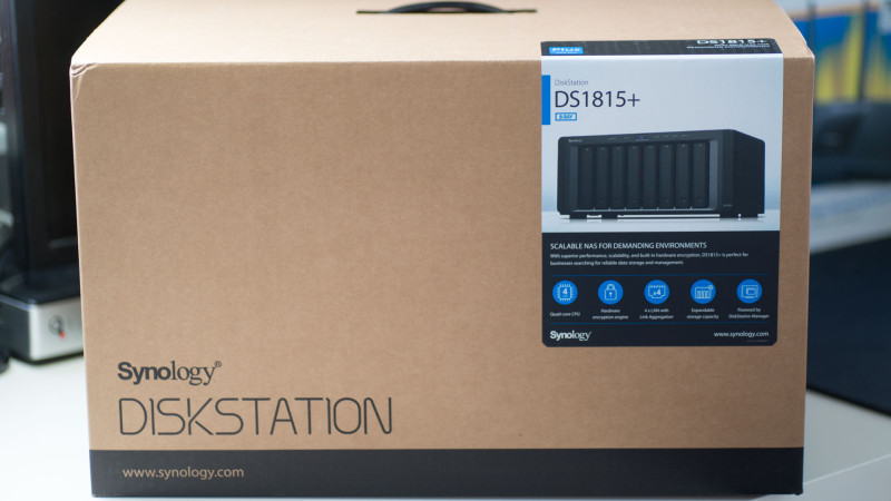 Synology DS1815+ 8 Bay NAS im Test-1