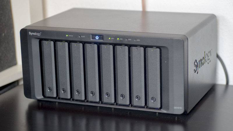 Synology DS1815+ 8 Bay NAS im Test-100