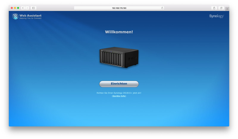 Synology DS1815+ 8 Bay NAS im Test-2