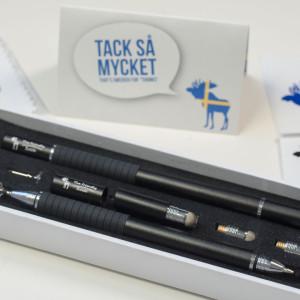 Der beste Touchscreen Stift, The Friendly Swede 3-in-1 Hybrid Multifunktions-Eingabestift