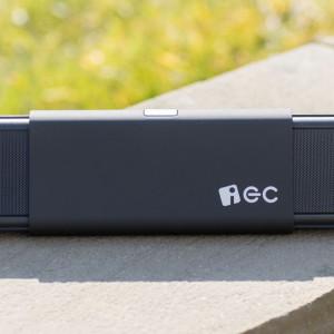 Ausziehbarer Lautsprecher von iEC im Test, der iEC S10-BT003 Bluetooth Lautsprecher