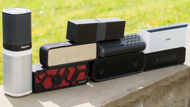 10 Bluetooth Lautsprecher unter 50€ im Vergleich (Anker, EasyAcc, Inateck, AUKEY, ......)-6