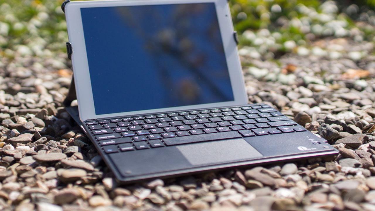 1byone android windows drahtlose bluetooth tastatur mit. Black Bedroom Furniture Sets. Home Design Ideas